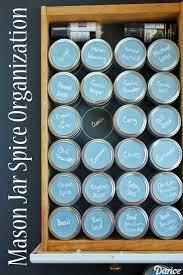 Kitchen Spice Organization 17 Best Ideas About Spice Drawer On Pinterest Kitchen Spice