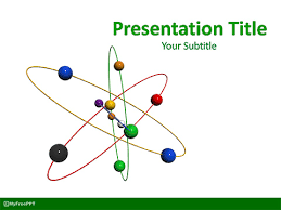 Powerpoint Template Research Free Atom Research Powerpoint Template Download Free