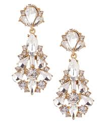 breathtaking crystal chandelier earrings for wedding zi gold