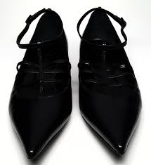 Lanvin Shoes Size Chart Lanvin Black Strappy Pointed Toe Flats Size Us 8