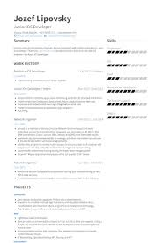 Examples Of Engineering Resumes Interesting Network Engineer Resume Samples VisualCV Resume Samples Database