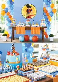 Dragon Ball Z Decorations Dragon Ball Z Party Dragon ball Dragons and Birthdays 1