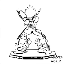 Goku We Coloring Page 379 1 Coloring For Kids 2019