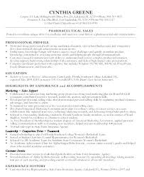 Pharmaceutical Resume Pharmaceutical Sales Resume Sales Resume ...