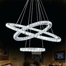contemporary industrial chandelier lighting modern ring crystal re high ceiling chandeliers led pendant lamp bedroom in modern contemporary chandelier