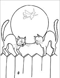 Small Picture Scary Halloween Hello Kitty Coloring Pages Cartoon Coloring