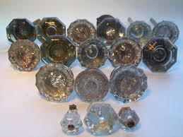 Antique Glass Door Knobs and Back plates — John Robinson House Decor