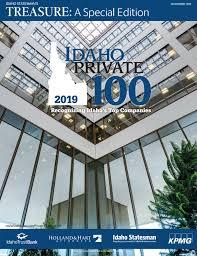 Idaho Private 100 2019 By Idaho Statesman Issuu