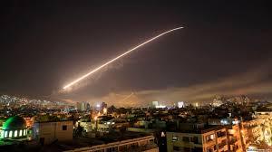Image result for حمله موشکی به پایگاههای سوریه