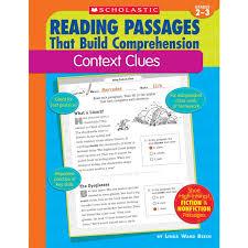 Reading Passages Context Clues Book - Grades 2-3