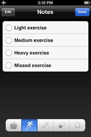 Exercise Chart App Mhealth App Selection Testing Results Ttac