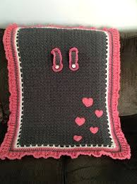 patterns for baby car seat covers best crochet images on ideas homework cover pink hearts by free pattern