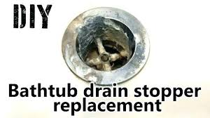 un bathtub drain how remove stuck bathtub drain stopper
