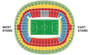 Wembley Stadium Nfl Seating Chart My Ticket And Hospitality Options At Wembley Stadium