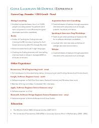 CareerCup Consulting Info Packet Delectable Career Cup Resume