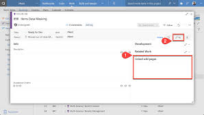 Wiki Work Linked Wiki Pages Visual Studio Marketplace