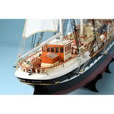 wooden model ship kit french training ship belem 1 75