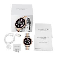 Michael Kors Watch Size Chart Michael Kors Access Lexington Gen 5 Display Smartwatch
