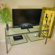 80 Inch Steel Frame TV Stand Top View Lightbox Moreview Tv Stand Inches Wide W27