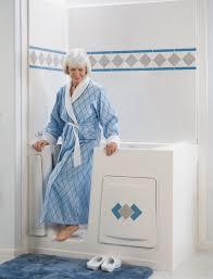 best bath woman in blue robe