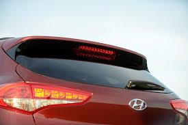 Hyundai Tucson Rear Light Hyundai Shows New Tucson Ix35 At New York International Auto
