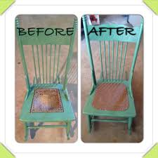 replace worn cane seat with faux leather