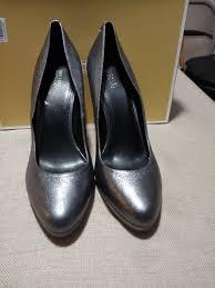 michael kors antoinette women shoes oxblood leather pumps sz 8 m