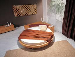 Modern Furniture Zen Round Designer Bed