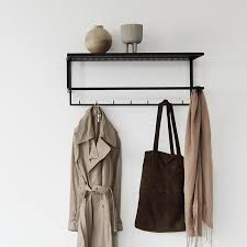 Coat Rack Unique Grid Coat Hanger Black Steel Coat Rack Design Kristina Dam