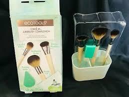 EcoTools <b>Airbrush Complexion Kit</b> 4 Brushes 1 Make Up Wedge 1 ...