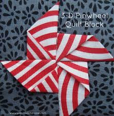 3-Dimensional Bow Tie Quilt Block - & 3 d pinwheel quilt block tutorial | patchwork posse | easy sewing projects  and free quilt Adamdwight.com
