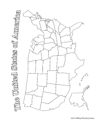 Us Map Coloring Pages