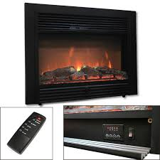 28 5 electric fireplace 1500w embedded insert heater with remote