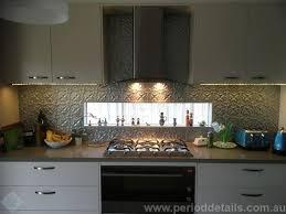pressed metal furniture. Spades Pattern Pressed Metal Kitchen Splashback In A Metallic Silver Finish (Jotun Frontline Silver) Furniture
