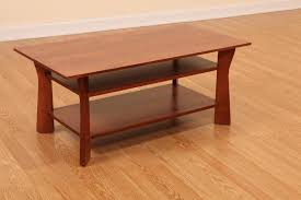 home element westfield solid cherry transitional style coffee table amish glubdubs