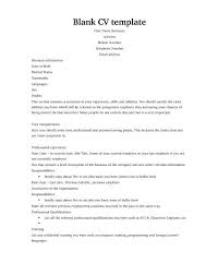 Most people have a two page CV that usually looks a little something like  this