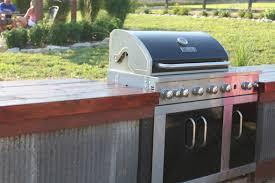 Steel Frame Outdoor Kitchen Building An Inexpensive Rustic Outdoor Kitchen Old World Garden