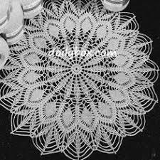 Oval Crochet Doily Patterns Free Simple Pineapple Oval Doily Crochet Pinterest Free Pattern Crochet