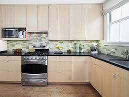 black granite countertoposaic tile glass backsplash for luxury kitchen ideas
