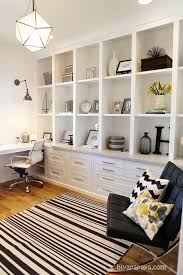 office wall shelving units. A Very Functional Home Office: The Full-wall Shelving Unit With Its  Combination Of Desk Drawers, File Cabinets And Shelves Provides Ample Storage Space Office Wall Units C