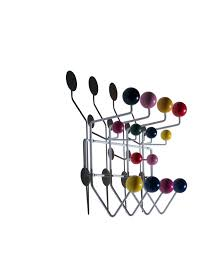 Herman Miller Coat Rack Wallmounted coat rack contemporary metal solid wood HANGIT 15