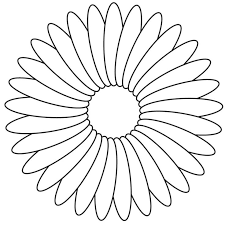 Flowers You Can Print And Color