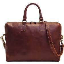 details about floto women milano slim leather briefcase