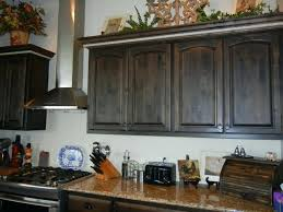 dark stained kitchen cabinets. Black Stained Cabinets Kitchen Beautiful On For Distressed Walnut Stain With Cream Island Dark T