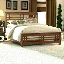 Mission Style Wood Bed Frame King Size California New Frames Plans ...