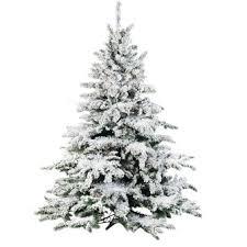 King Flock Christmas Tree  King Of ChristmasSlim Flocked Christmas Trees Artificial