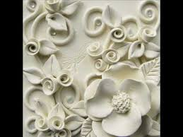 clay art wall painting