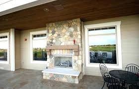 outdoor patio and backyard medium size double sided outdoor patio stone fireplace indoor fireplaces on two