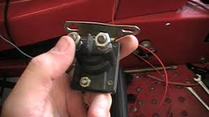 solved craftsman lawn tractor won t start riding bright starter with Sears Riding Mower Wiring Diagram how to rewire a riding lawn mower super easy youtube in starter solenoid wiring diagram for