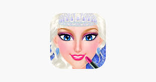 frozen ice queen beauty spa on the app